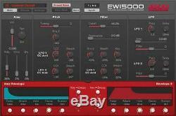 AKAI EWI5000 WIRELESS ELECTRONIC WIND INSTRUMENT PCM sound source from Japan F/S
