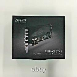 ASUS Sound Card with Headphone Amp ESSENCE STX II Hi-Fi Quality from Japan F/S