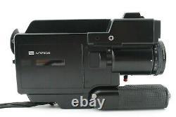 As-is ELMO SUPER 8 SOUND 2600AF MACRO Cine Movie 8mm Camera From JAPAN # 653