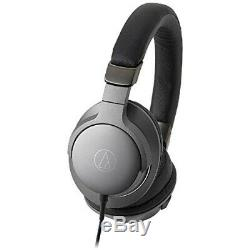 Audio-technica Sound Reality ATH-AR5 BK Steel Black from japan