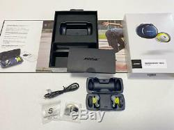 BOSE Full Wireless Earphone Sound Sport Free SSPORTFREEORG blue From Japan F/S