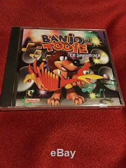 Banjo-Kazooie 2 Original sound Track From Japan rare