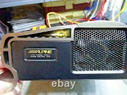 Broken Old School Alpine 3558 2 Channel Sound Quality Class A Amp From Japan