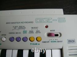 CASIO GZ-5 Mini 37keys MIDI Keyboard Sound Module Build-in Speaker from japan