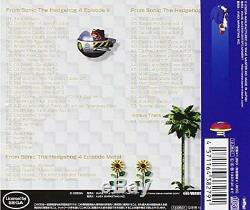 CD Game Sonic The Hedgehog 4 Episode 1/2 Original Sound Track NEW from Japan