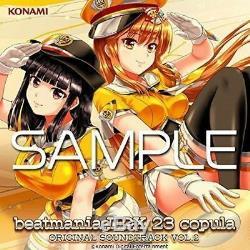 CD beatmania IIDX 23 copula Original Sound Track Vol. 2 NEW from Japan