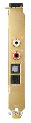 CREATIVE PCIe Sound Blaster ZxR 24bit 192kH SB-ZXR-R2 FINAL FANTASY F From japan