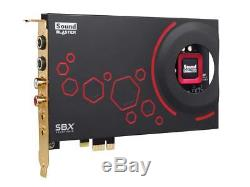 CREATIVE PCIe Sound Blaster ZxR 24bit 192kH SB-ZXR-R2 New From Japan