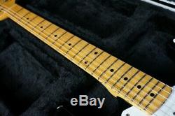 Crews Maniac Sound ST Black Stratocaster Model WithHard Case From Japan Used