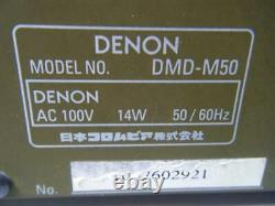 DENON DMD-M50 MD Player Recorder High sound quality Excellent from Japan