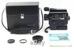 EXC+5 ELMO Super 8 Sound 350SL Macro Movie Camera with9-27mm f/1.2 from Japan