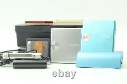 EXC+5Sony MD WALKMAN MZ-E730 Silver & Blue silver Sound Great From JAPAN #S756