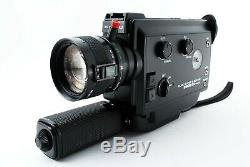 EXC+++++ ELMO super8 Sound 260S-XL macro super8 film movie camera from japan