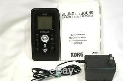 EXC! KORG Sound On Sound SR-1 Unlimited Track Recorder with AC Adapter From Japan