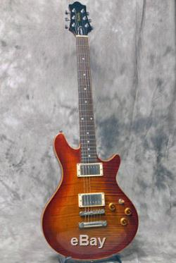 Edwards E-PO-100D Amber Cherry Sunburst Electric Guitar used from japan sound