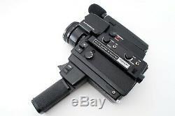 Elmo Super 8 Sound 3000AF MACRO Super8 Movie Camera from Japan Excellent #328