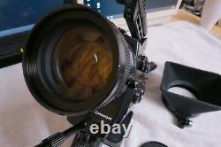 Ex CHINON Pacific12SMR Direct Sound Super 8 Film Camera Pro Model From Japan