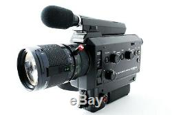 Exc+5 Elmo Super8 Sound 1012S-XL Macro with Zoom Lens 7.5 75mm f1.2 From JAPAN