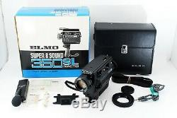 Extra rare! MINT ELMO SUPER 8 SOUND 350SL Zoom Lens 9-27 F1.2 Macro from Japan