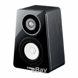 F/S Yamaha NS-500 series Bookshelf speaker hires sound support black from japan