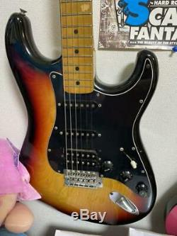 Greco Spacey Sound Sunburst Rare Electric Guitar Shipped from Japan