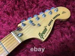 Greco super sounds electric guitar sunburst from japan shippingfree collection