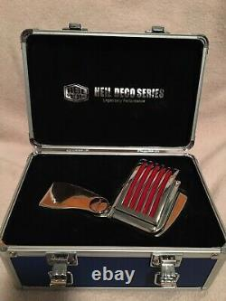 Heil Sound The Fin Red Led Microphone From the Deco Series With Case and Manual