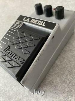 Ibanez LM7 Guitar Effect Pedal LA METAL Vintage'80s sound used from JAPAN