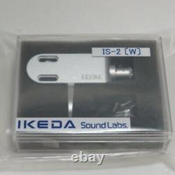 Ikeda Sound Labs Head Shell Silver IS-2 W New from Japan