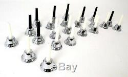 KC Music Bell Handbell 23 sound set MB-23K / S Silver from Japan F/S NEW
