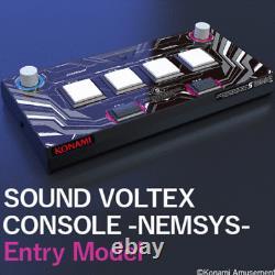 KONAMI SOUND VOLTEX CONSOLE -NEMSYS- Entry Model ship from Japan