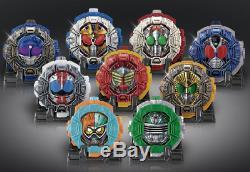 Kamen Rider ZI-O PB02 sound Ride Watch series 9 set BANDAI Masked From JAPAN