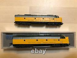 Kato E8A duo C&NW DCC and sound 176-5365-LS 5022B and 5022A from 106-104-LS