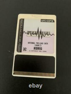 Korg Wavestation A/D Sound Module Tested good From Japan