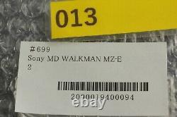 MINTSony MD WALKMAN MZ-E900 MiniDisc Player Silver Sounds Great From JAPAN#699