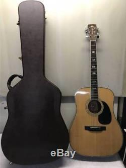 MORRIS W-60 Acoustic Guitar sound PREMIUM Excellent+++ condition Used from japan