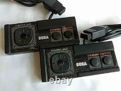 Master System Sega Game Console Boxed MK-2000 FM Sound used from Japan