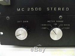 McIntosh MC2500 MC-2500 Amplifier Amp for Audio Sound Working Used from Japan
