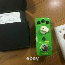 Mooer Rumble Drive, OVP Sounds Effect Pedal Over Drive From Japan