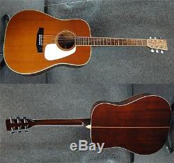 Morris TF-50T Acoustic Guitar sound Rare Excellent+++ condition Used from japan