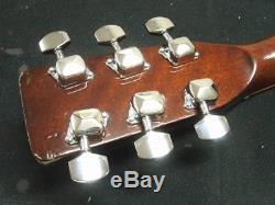 Morris W-25 repair adjustment 1974 Acoustic Guitar sound Vintage Used from japan