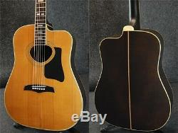 Morris W-65R Acoustic Guitar sound Rare Excellent+++ condition Used from japan