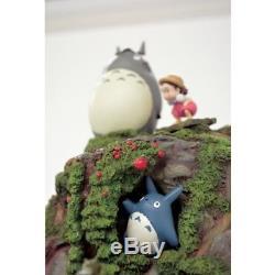 My Neighbor Totoro Water Sound Garden Figure Ornament Studio Ghibli from Japan