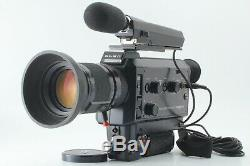 N. MINTElmo Super 8 Sound 1012 XL Macro withZoom Lens 7.5-75mm f/1.2max from JPN