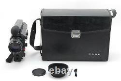 NEAR MINT+++ ELMO SUPER 8 SOUND 612S-XL MACRO Super8 Movie Camera From JAPAN