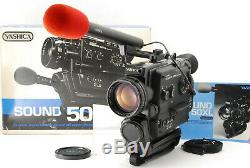 NEAR MINT IN BOX YASHICA SOUND 50XL MACRO SUPER 8 Movie Camera From JAPAN 1020
