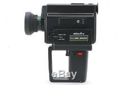 NEAR MINT+++ MINOLTA XL-225 SOUND SUPER 8 8mm Movie Camera From JAPAN #545