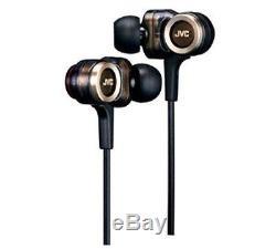 NEW JVC Victor HA-FXZ200 wood Series Hi-res sound in Ear earphones from Japan