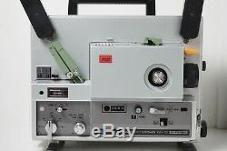NMint in Case Elmo ST-1200HD Super 8 Sound Film Projector 2 Track From Japan