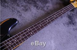 Nash Guitars JB-63 Black Electric Bass Guitar Superb Sound Shipped from Japan